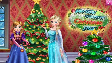 Disney Frozen Perfect Christmas Tree Game Free