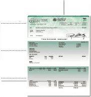 versa business check paper form 3000 white canvas info