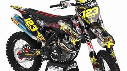 Dirt Bike Graphics Rockstar Kit Energy Mx
