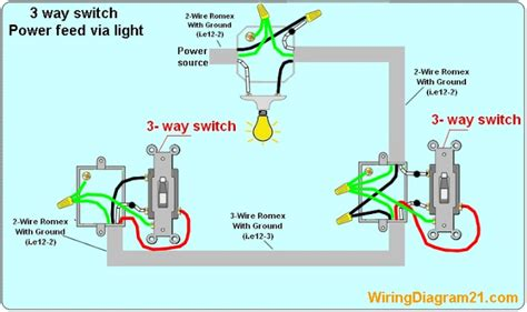 1 3 Way Light Switch Wiring Diagram by 3 Way Switch Wiring Diagram House Electrical Wiring Diagram