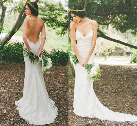 Simple Bohemian Lace Wedding Gowns Katie May 2016 Boho