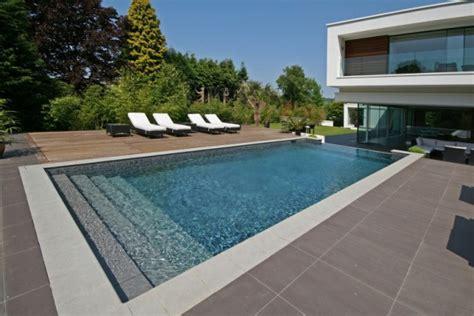 astonishing concrete pool deck designs