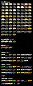 Car Paint Colors Chart Color Chart Humbrol Modelling