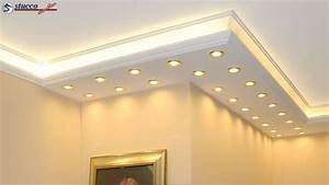 Led Indirekte Deckenbeleuchtung : led deckenbeleuchtung premium stuckleisten ~ Watch28wear.com Haus und Dekorationen