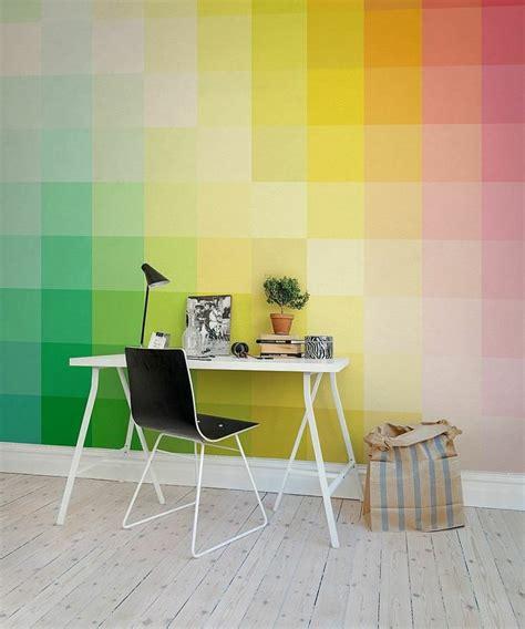 papier peint bureau bureau scandinave 50 idées pour un coin de travail pratique