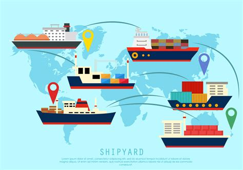 Tugboat Vector Question by Shipyard The World Free Vector Stock