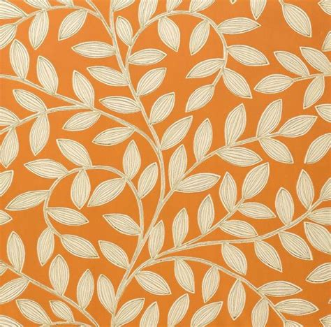 havendale wallpaper fabric   life orange wallpaper