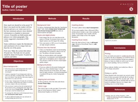 academic poster template classroom poster motivation pictures academic research poster template