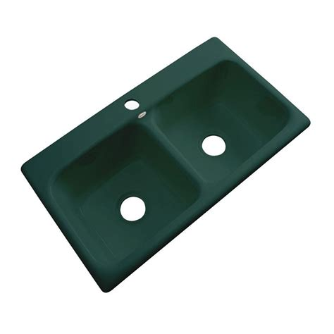 thermocast kitchen sink thermocast brighton drop in acrylic 33x19x9 in 1 2726