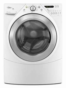 3 8 Cu  Ft  Duet U00ae Steam Front Load Washer