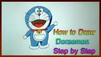How To Draw Doraemon Step By Step How To Draw Cartoon