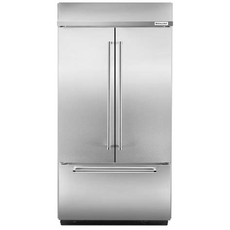Kitchenaid Refrigerator Built In by Kitchenaid Kbfn402ess 42 Quot Width Built In Stainless