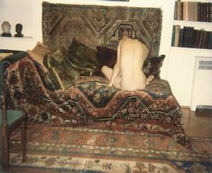 Photographer: Juergen Teller. Title: Sigmund Freud's Couch ...