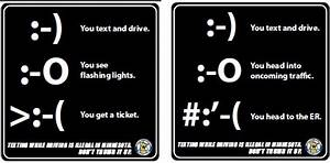 Texting While Driving is Illegal and Dangerous, but People