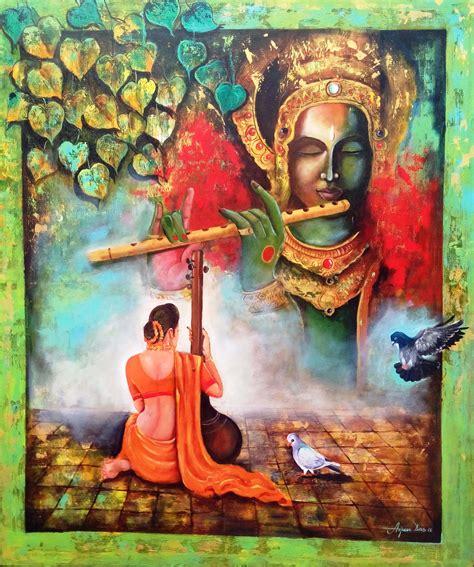 buy krishna painting  krishna  meera