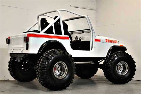 renegade jeep cj7 this 1980 jeep cj7 renegade restomod is the business