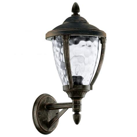 abira 92232 1 light wall light in antique brown gold