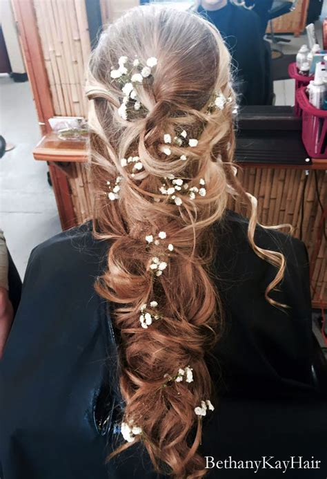 prom hair styles updos long  straight feather