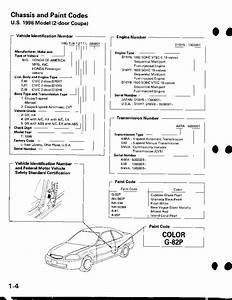 Honda Civic Service Manual 1996 - 2000