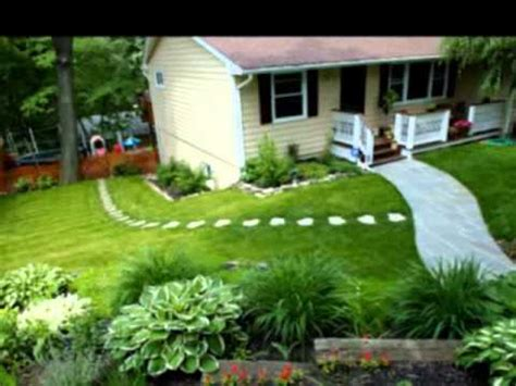 Diy Landscaping Ideas For Front Yard Youtube