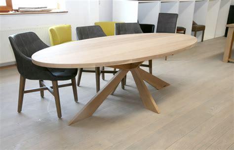 eettafel ovaal ovale eiken tafels edinburgh massieve eiken tafel ovaal
