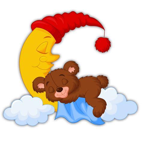 chambre b2b2 teddy träumt auf einem mond