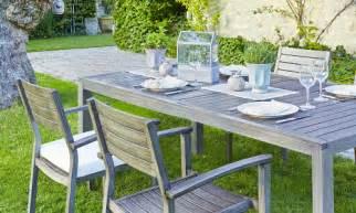 Table De Jardin Avec Rallonge Carrefour by Carrefour Meubles D Exterieur