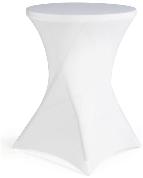 trade show table covers amazon white cocktail table cover highboy height