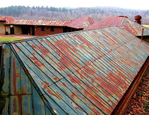 Tin Roofrusted Photograph by Rollin Jewett