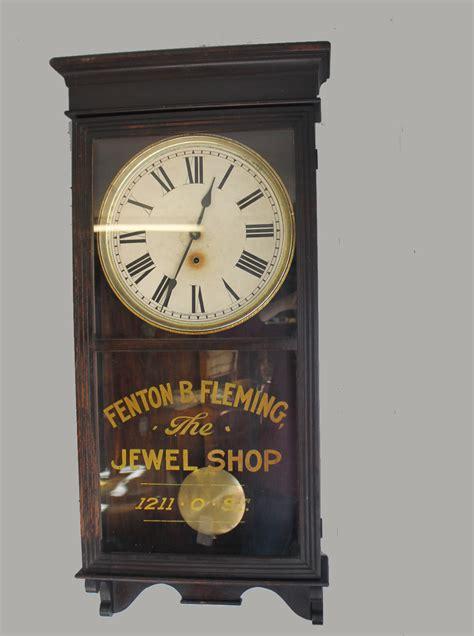 bargain johns antiques antique regulator clock