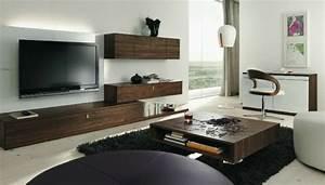 Meuble But Salon : le meuble suspendu de salon d core et modernise le salon ~ Teatrodelosmanantiales.com Idées de Décoration