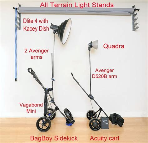 top 25 ideas about photography lighting golf push cart