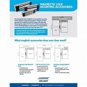Securitron M62b Bondstat Magnetic Bond Sensor  Mbs  1200 Lb  Magnalock