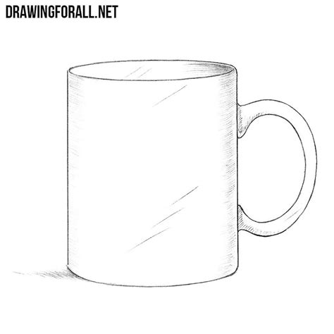 draw  mug step  step drawingforallnet