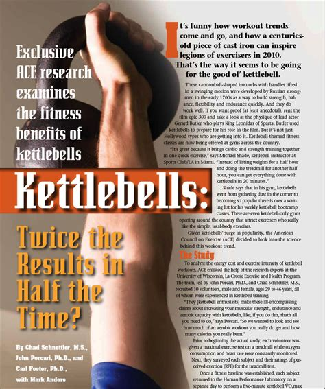 kettlebell calories training swing results benefits hour kettlebells per 1200 workout study kettle pdf fitness ace minute swings project burns