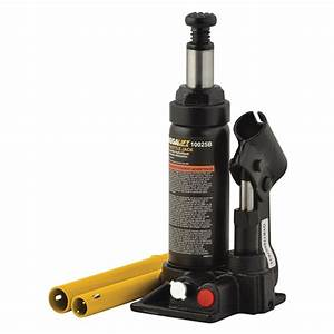 Omega Lift Equipment 10025b 2 Ton Side Pump Bottle Jack