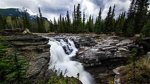 Nature, Landscape, Waterfall, River, Trees, Forest, Wallpapers, Hd, Desktop, And, Mobile, Backgrounds
