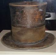 ABRAHAM LINCOLN HAT See best of PHOTOS of the politician  Abraham Lincoln With Hat