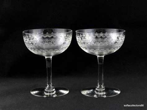 10+ Images About Vintage Elegant Stemware-champagne Flutes
