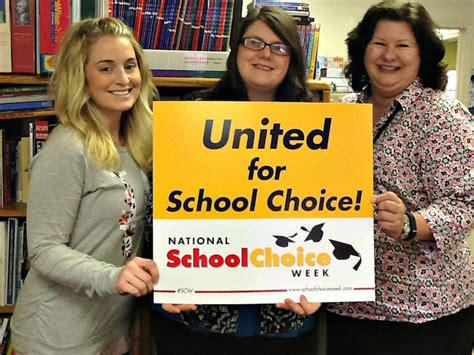 educational horizons charter school celebrate national school choice
