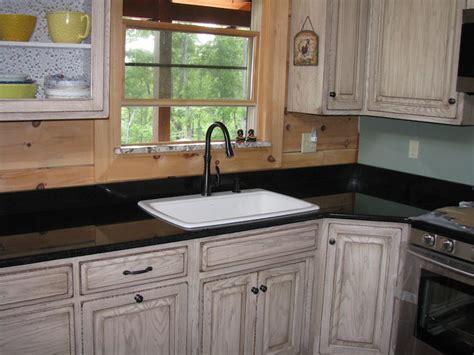 Distressed Rustic Oak Kitchen  Dutch Haus Custom