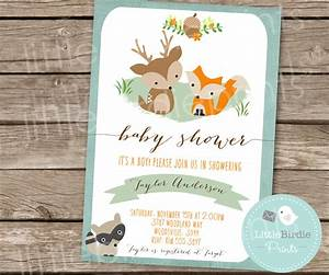 WOODLAND Baby Shower Game Baby Animal Names // Woodland Baby