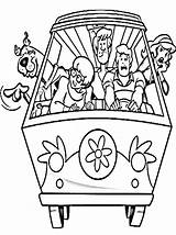 Scooby Doo Coloring Pages Printable Christmas Colouring Scoopy Template sketch template