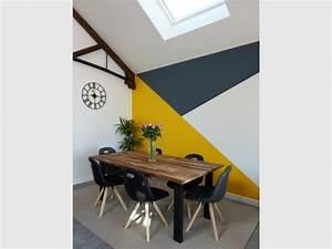 peinture murale peinture clarensac peinture decorative With couleur peinture mur 0 faire en couleur atelier de peinture decorative