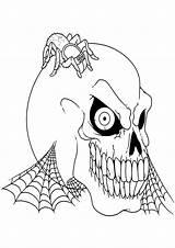 Disegni Halloween Colorare Spaventosi Pianetabambini Paurosi Gratis Stampa Stampare Immagini Bambini Sul Adulti Horror Dei Disegnare Disegno Articulo sketch template