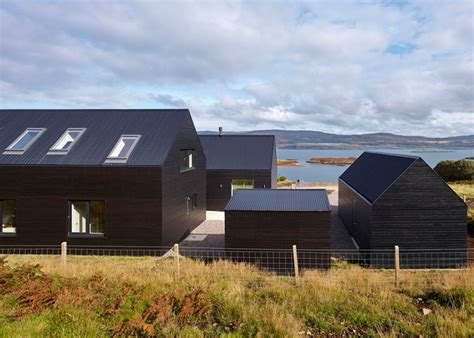 Colbost House Is A Sleek Black Residence On The Isle Of