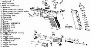 Details About Glock Diagram Glossy Poster Picture Photo