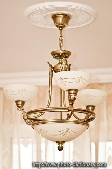 chandelier photo picture definition at photo dictionary