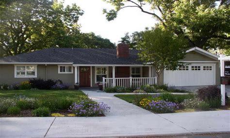 split level ranch ranch house exterior paint color