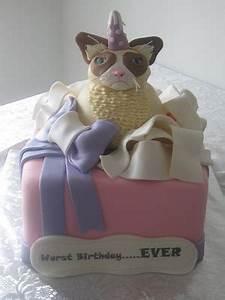 Grumpy Cat Birthday Cake Ideas and Designs